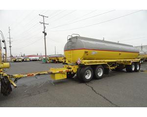 Beall 7400 GAL., 3 COMPT., 4-AXLE PULL TANK Waste / Sludge Tank Trailer