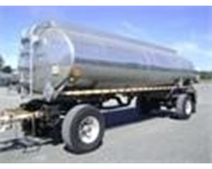 Paramount 5300 GAL., 2 COMPT., 2-AXLE PULL TANK Waste / Sludge Tank Trailer