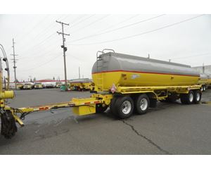 Beall 7400 GAL., 3 COMPT., 4-AXLE PULL TANK Water Tank Trailer