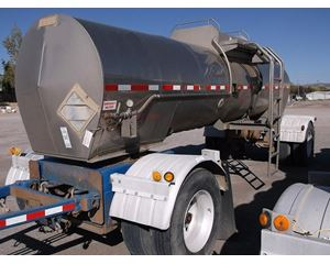 Heil Insulated Stainless Pull Trailer Water Tank Trailer