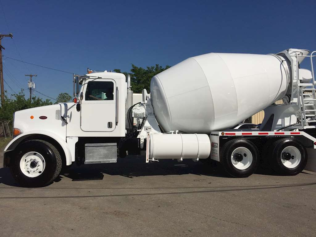 2007 Peterbilt 357 Mixer Ready Mix Concrete Truck For