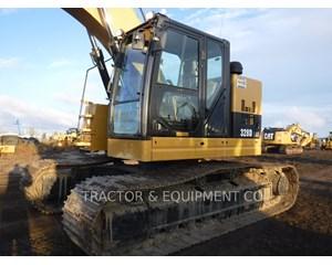 Caterpillar 328D LCR Crawler Excavator