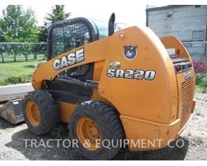 CASE SR220 Skid Steer Loader