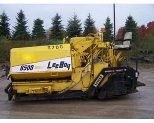 LeeBoy 8500 Asphalt Paver