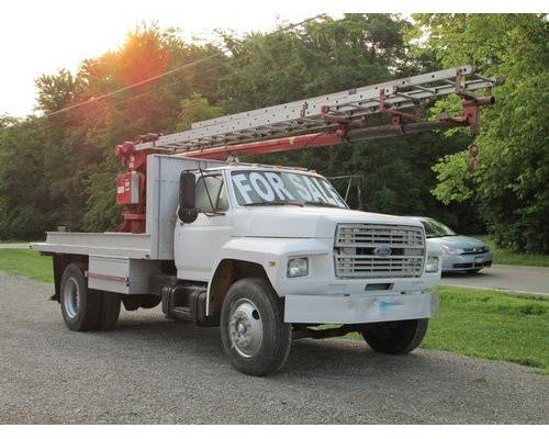 1988 Ford F700 Diesel Sign Truck For Sale 130 505 Miles