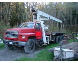 Ford F-800 Crane Truck
