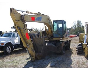 Caterpillar Wheeled excavator M 315