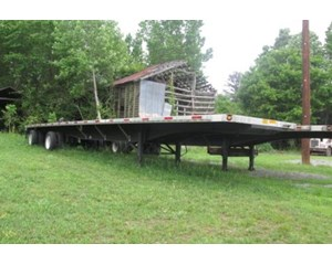 Utility  48x96 Spread Axle Flat Bed Trailer