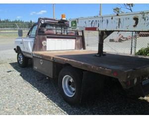 Dodge RAM 350 Flatbed Truck