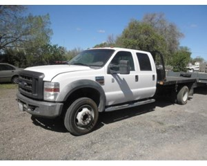 Ford F550XLT Flatbed Truck
