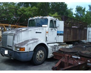 International  9400 Flatbed with Water tank