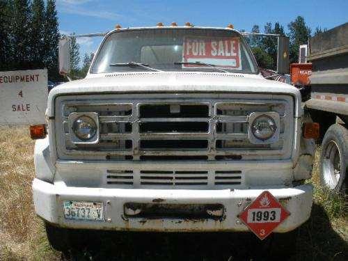 1975 gmc 6500 v eight for sale 87 300 miles woodland. Black Bedroom Furniture Sets. Home Design Ideas