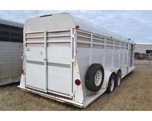 Chaparral 35x96 Horse Trailer
