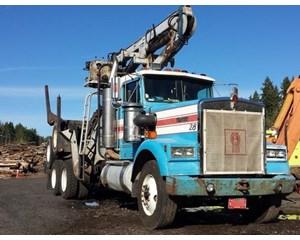 Kenworth W900 B Logging Truck