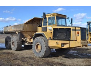 Volvo A35 6x6 Off-Highway Articulated Dump Truck