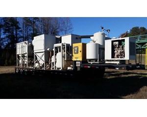 Industrial Vacuum Corp Custom Blast Rig Steel Grit Recycler Blast Rig