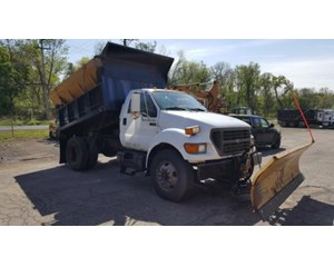 Ford F-750 Plow / Spreader Truck