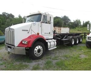 Kenworth T800 Tri-Axle Roll Off Truck Roll-Off Truck