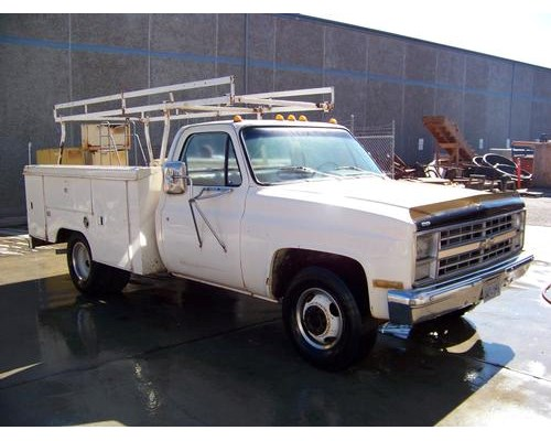 1983 chevrolet c30 utility truck for sale 24 068 miles buellton ca 12235. Black Bedroom Furniture Sets. Home Design Ideas