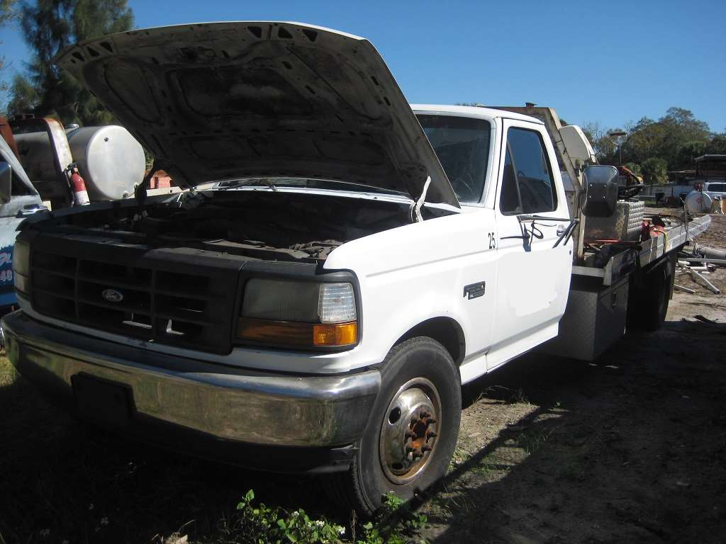 1995 ford f350 xl for sale clearwater fl 30510. Black Bedroom Furniture Sets. Home Design Ideas