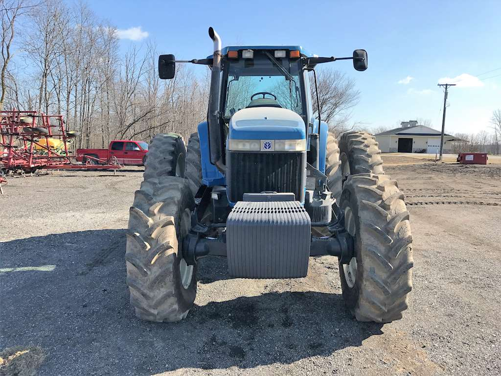 1996 New Holland Tractor : New holland for sale hours saint clair
