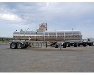 TREMCAR NEW 2012 TREMCAR DOT 407 ALUMINUM CHEMICAL TRAILER Chemical / Acid Tank Trailer
