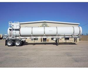 Tiger DOT 407-412/SP12516 COMPOSITE / FRP SINGLE COMPARTMENT TRANSPORT Chemical / Acid Tank Trailer