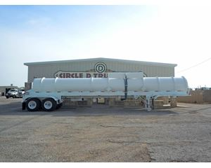 Tiger NEW 2013 TIGER DOT 412 TWO COMPARTMENT ACID TRAILER Chemical / Acid Tank Trailer