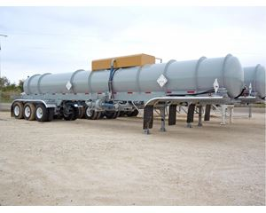 Tiger NEW TIGER MANUFACTURING DOT 412 TWO COMPARTMENT ACID TRANSPORT Chemical / Acid Tank Trailer