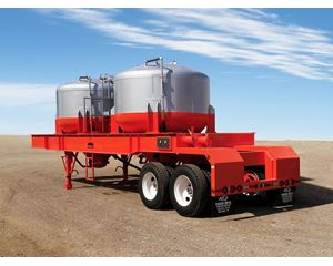 Tiger NEW TIGER MANUFACTURING T660 ASME PNEUMATIC BULK CEMENT TRANSPORT Dry Bulk / Pneumatic Tank Trailer