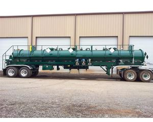 Tiger NEW TIGER THREE COMPARTMENT CHEMICAL DELIVERY TRAILER General Tank Trailer