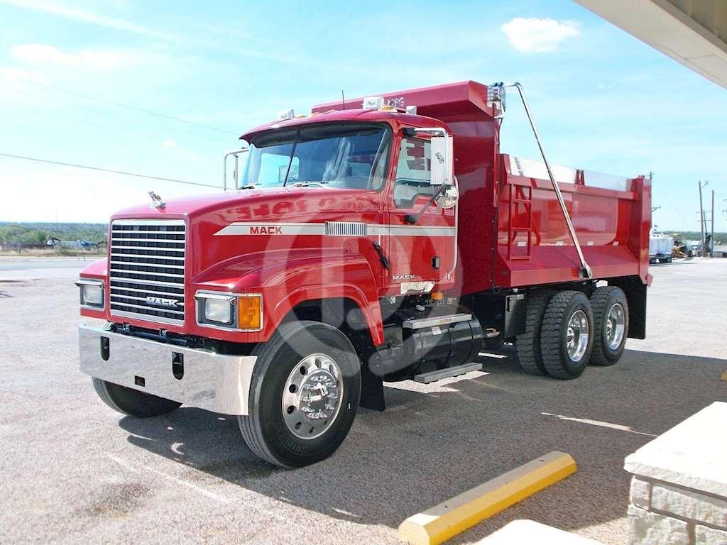 2008 Mack PINNACLE CHU613 Heavy Duty Dump Truck For Sale ...