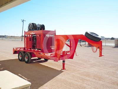 2019 EASLEY 16' DIESEL POWERED TONG UNIT Oil Field Trailer For Sale