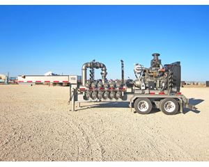 Tiger Charge Pump Trailer Water Tank Trailer