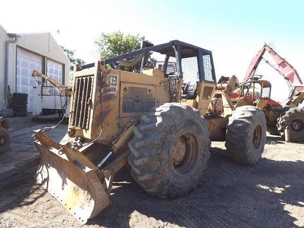Caterpillar 518 Skidder Being Dismantled   Yakima, WA