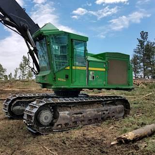 2010 John Deere 903KH Forestry Harvester - Waratah HTH623C Head