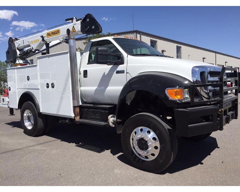 2011 ford f-750 service    utility truck for sale - salt lake city  ut