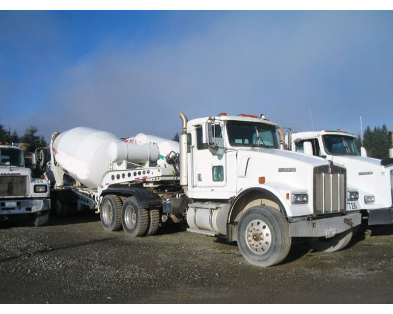 2000 Kenworth W900 Mixer Ready Mix Concrete Truck For