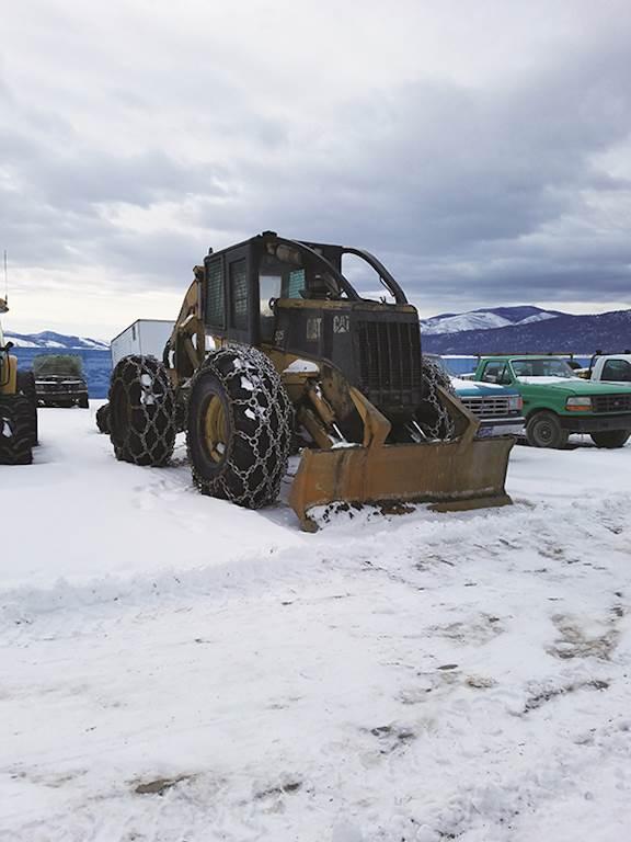 Caterpillar 525 Skidder For Sale   Lolo, MT   9409630   MyLittleSalesman com