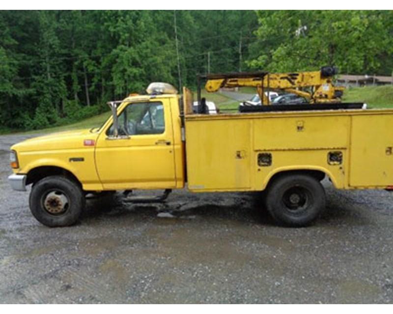 Ford F-450 Mechanic Truck