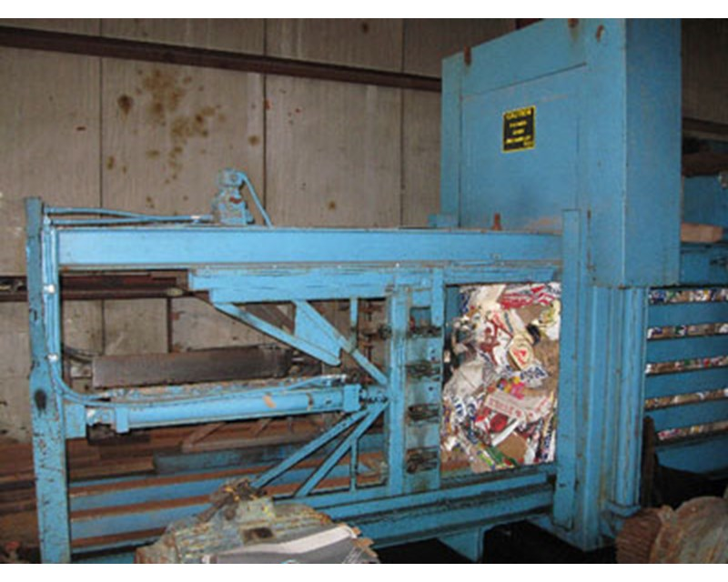 International International Auto Tie MDL#1950 Recycling Equipment
