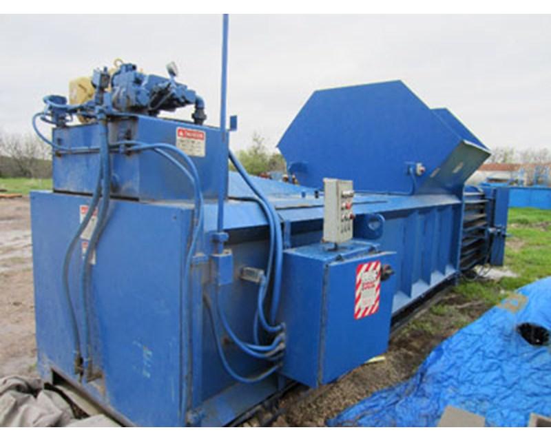 Marathon Electric Stealth Baler Closed Door Recycling Equipment