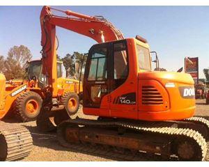 Doosan DX140LCR Crawler Excavator