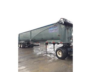 Construction Trailer Specialists End Dump Semi Trailer