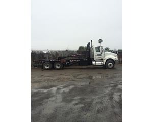 International ProStar Roll-Off Truck