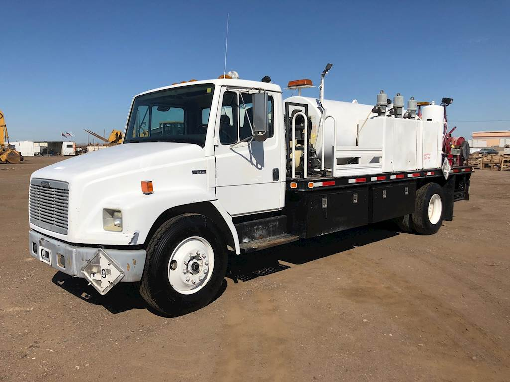 2000 Freightliner Fl70 Fuel Lube Truck For Sale Southlake Tx Filters
