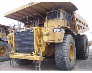 Caterpillar 789B Rigid Frame Rock Truck Off-Highway Truck
