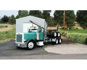 Peterbilt 2WS 3406E Logging Truck
