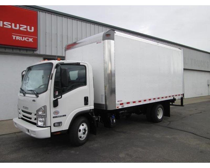 2016 Isuzu Npr Hd Box Truck Dry Van For Sale Spokane