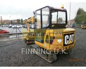 Caterpillar 302.5C CAB Crawler Excavator